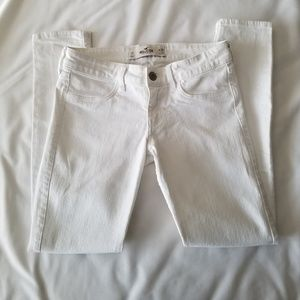 Hollister Pants - White Hollister Skinny Jean Pants 3S